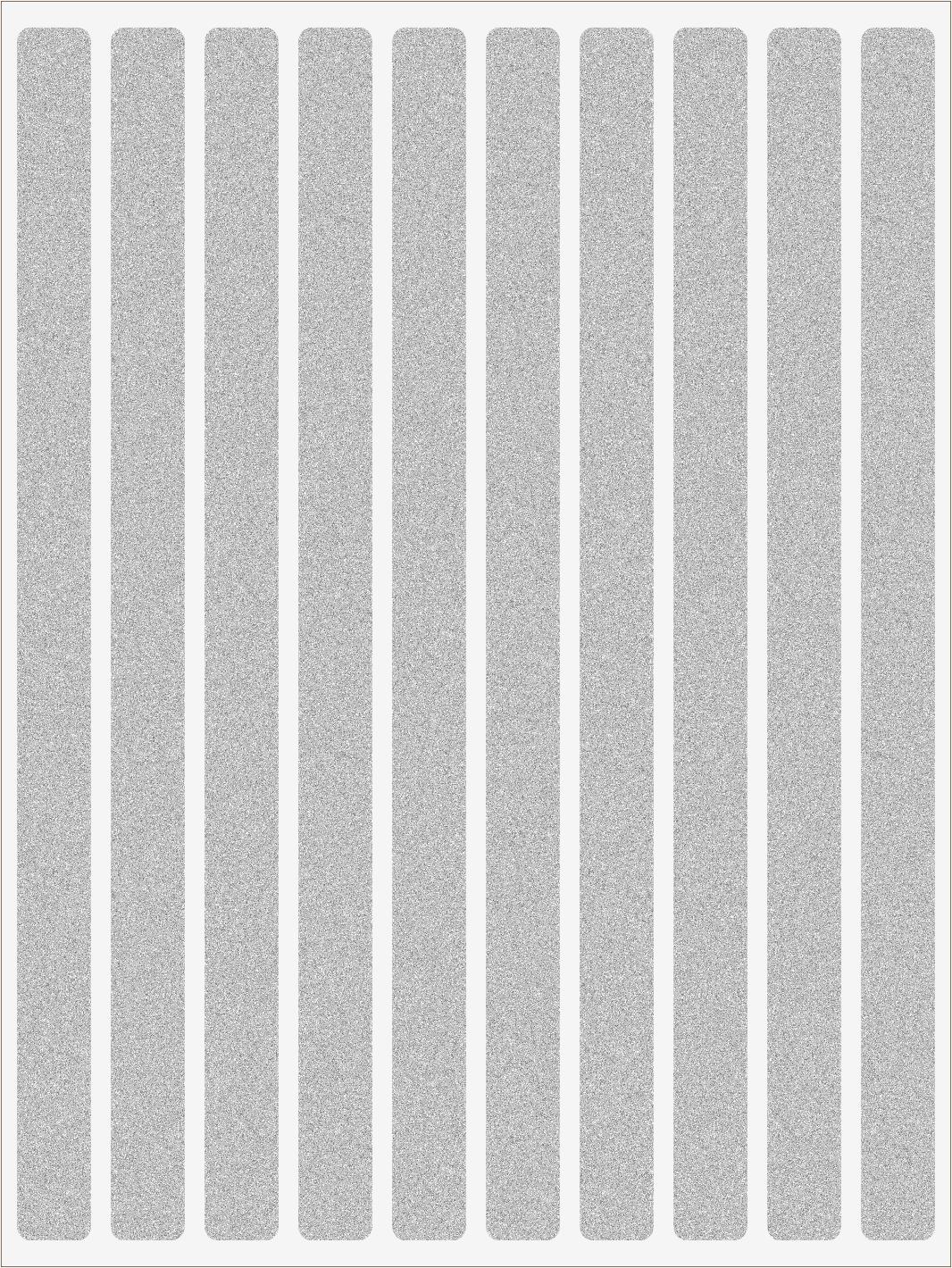 Reflexné nažehľovačky Pásiky