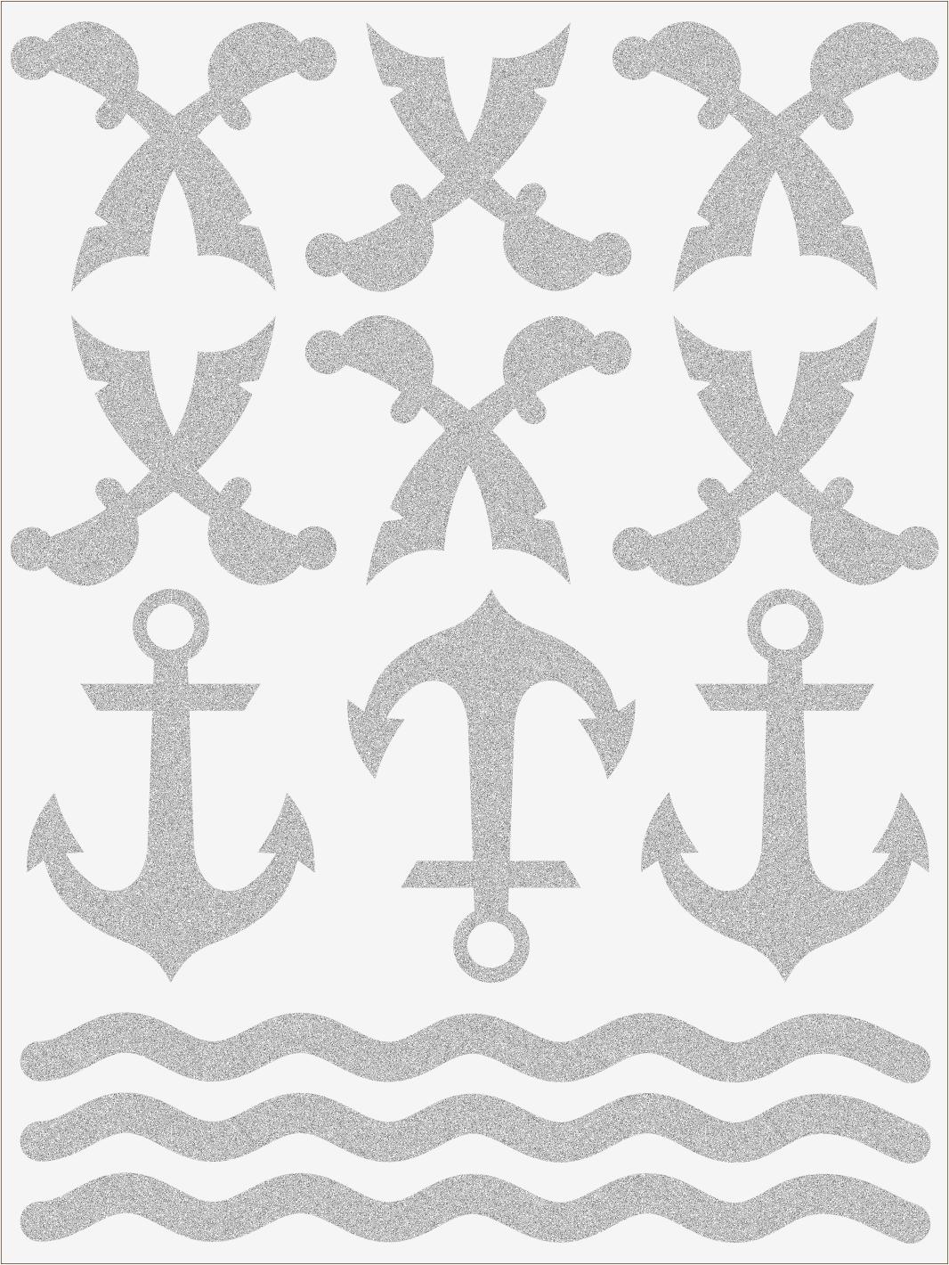 Reflexné nažehľovačky Pirát 1