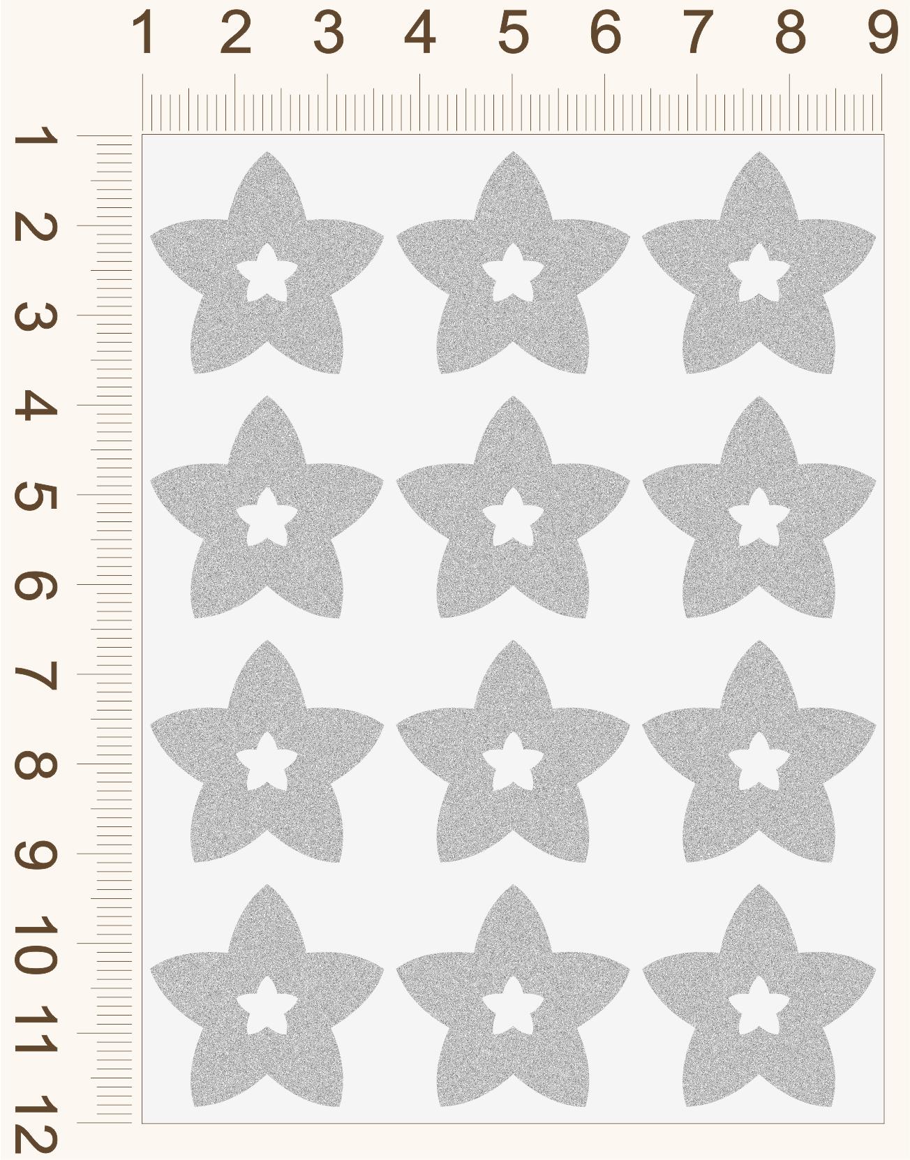 REFLEXNÉ PRVKY Hviezdičky s hviezdičkami 1