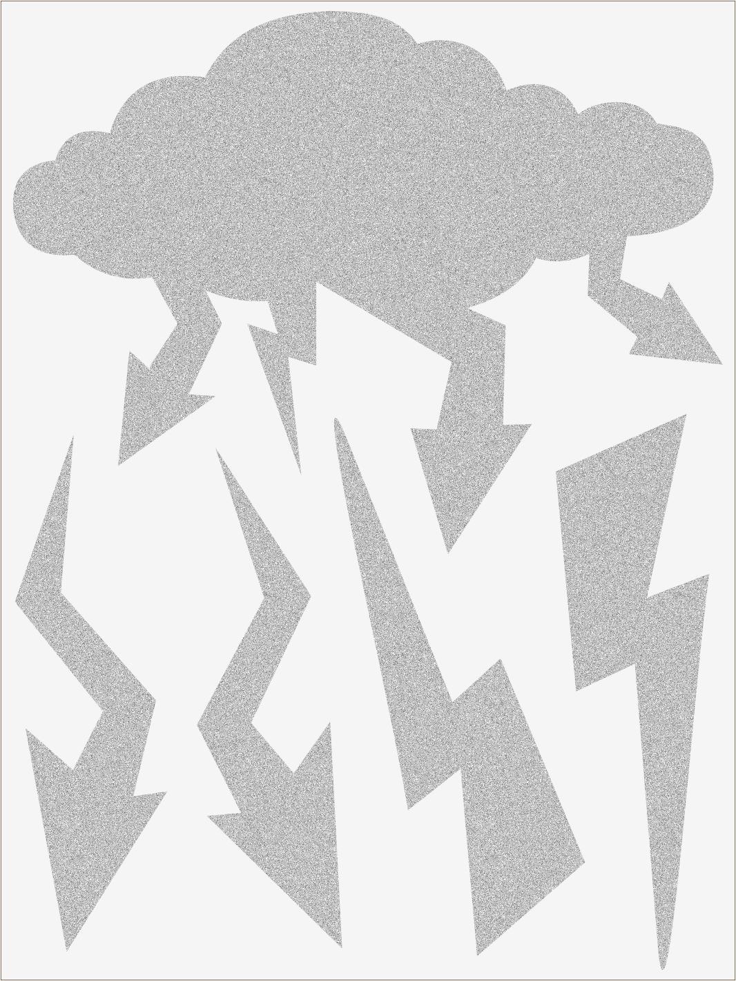 Reflexné nažehľovačky Blesky 1