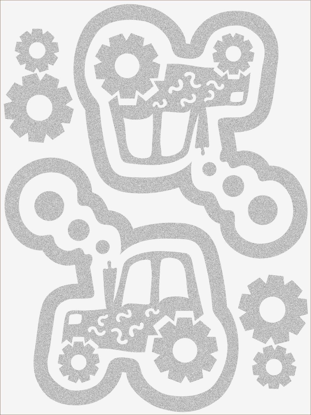 Reflexné nažehľovačky Traktor