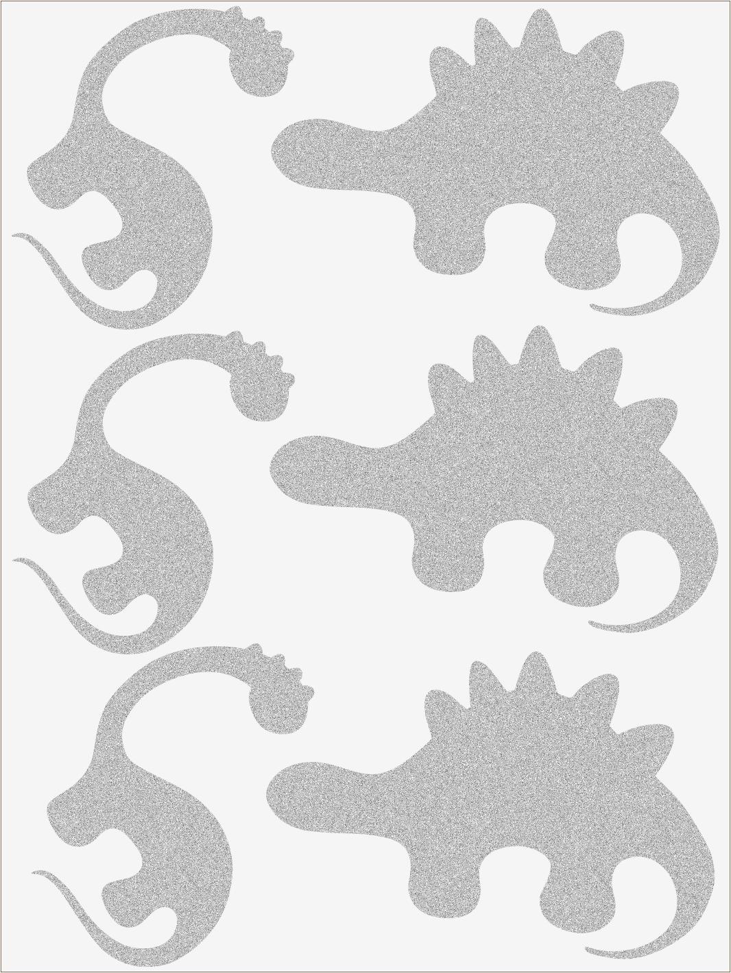 Reflexné nažehľovačky Dino II