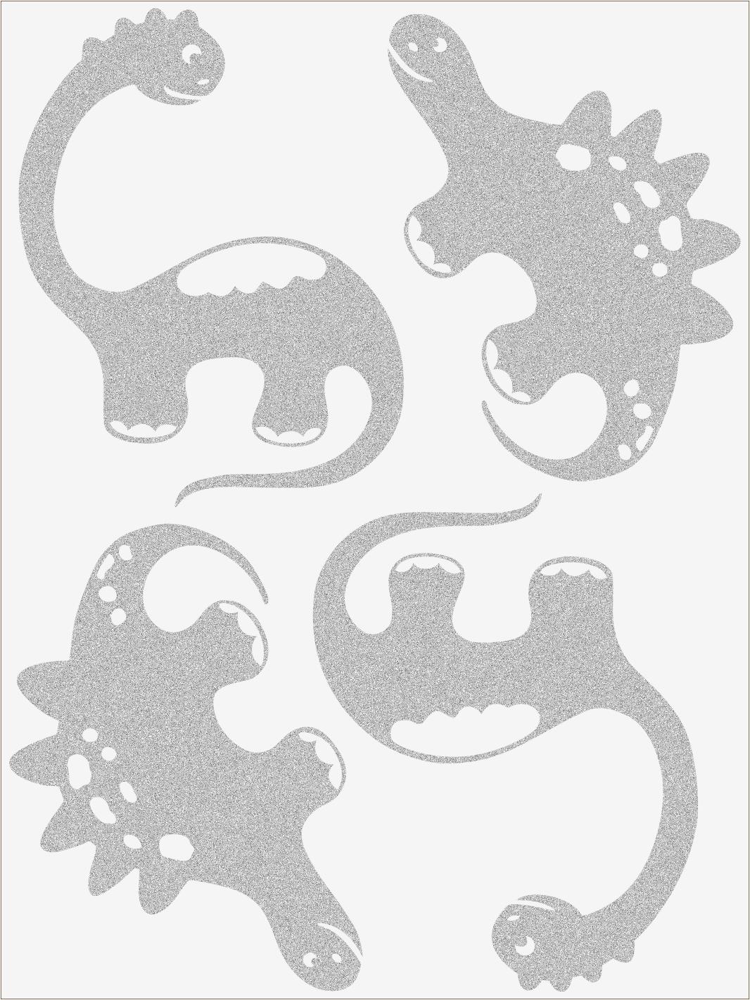 Reflexné nažehľovačky Dino III