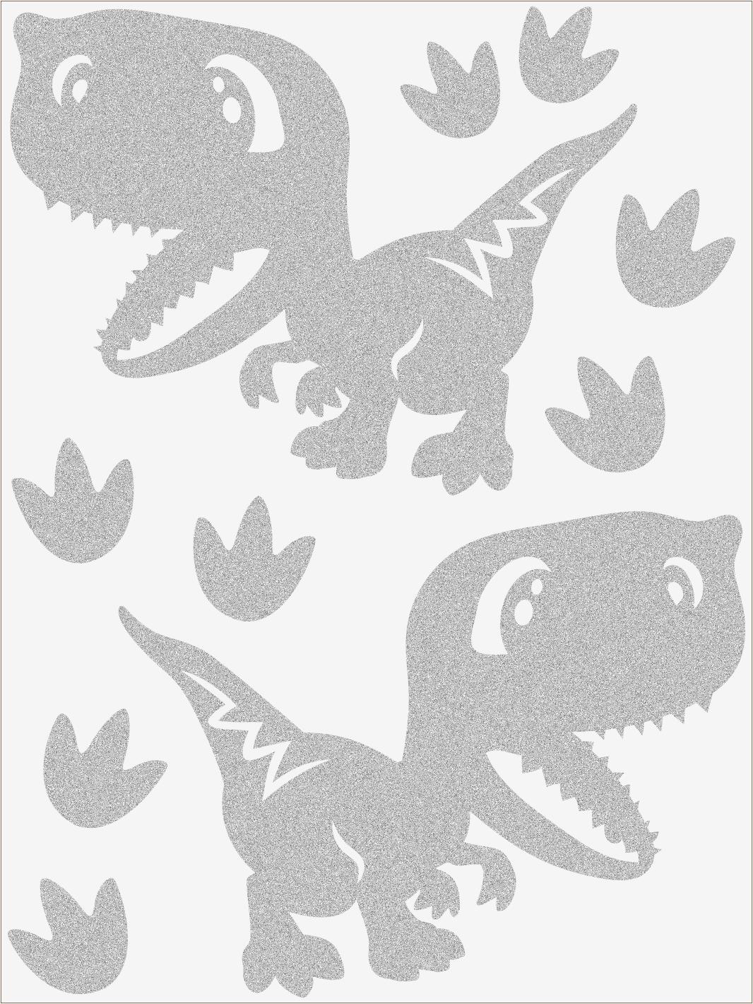 Reflexné nažehľovačky Dino IV