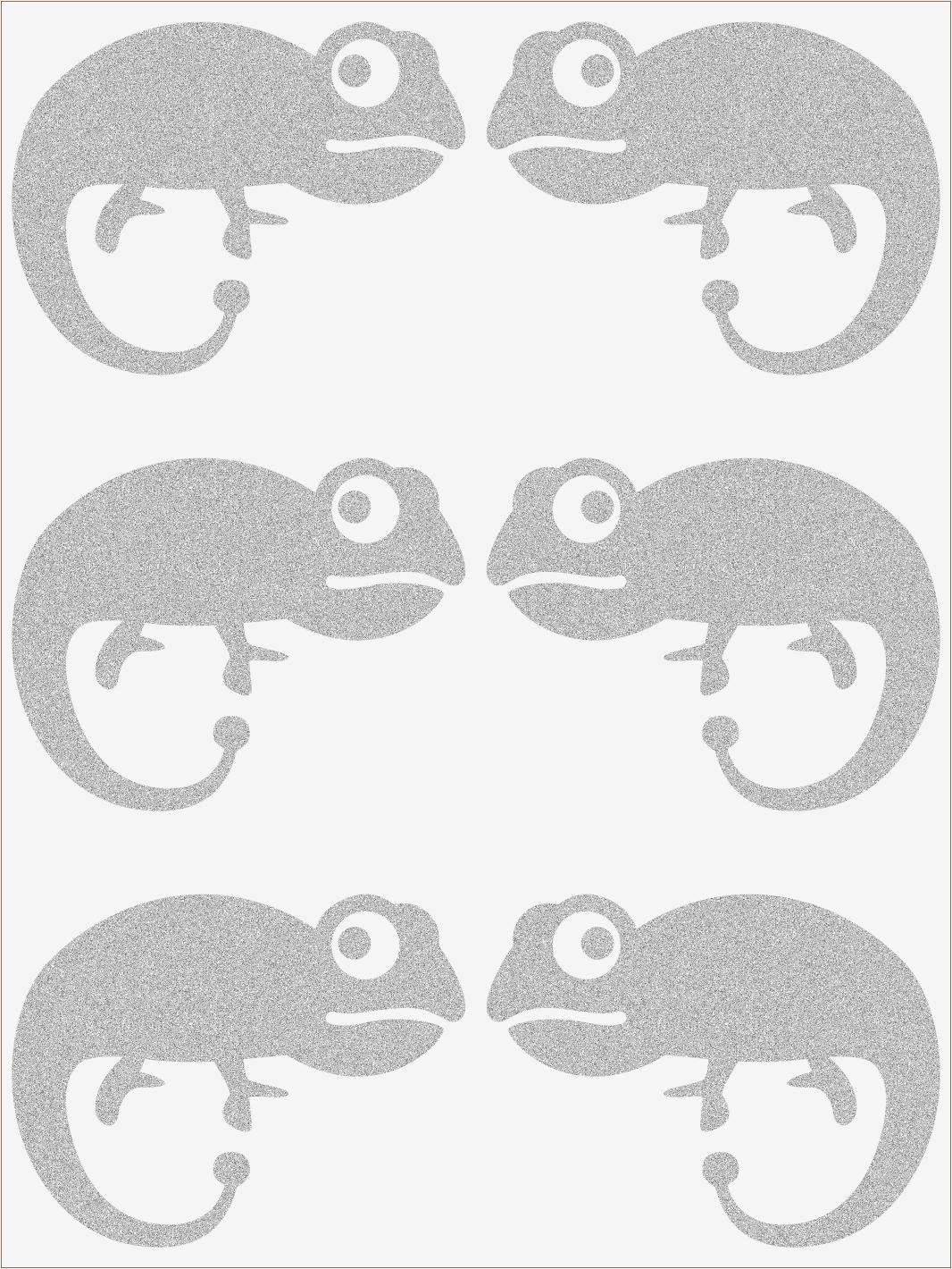 Reflexné nažehľovačky Chameleón II