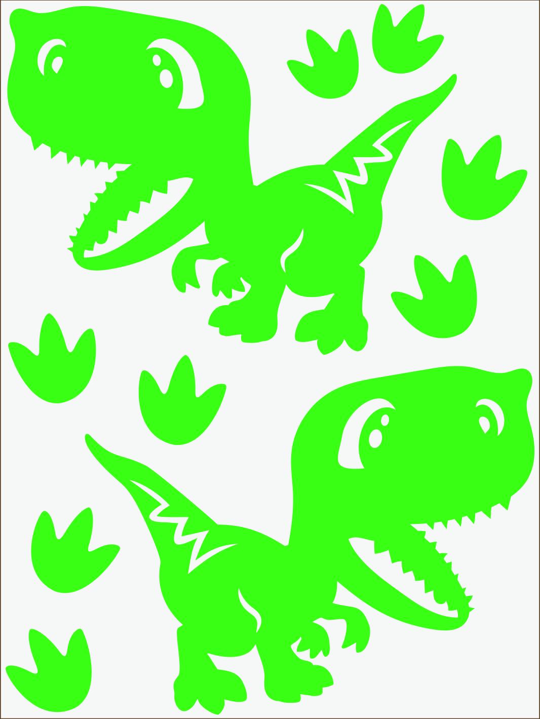Dino IV neon zelený