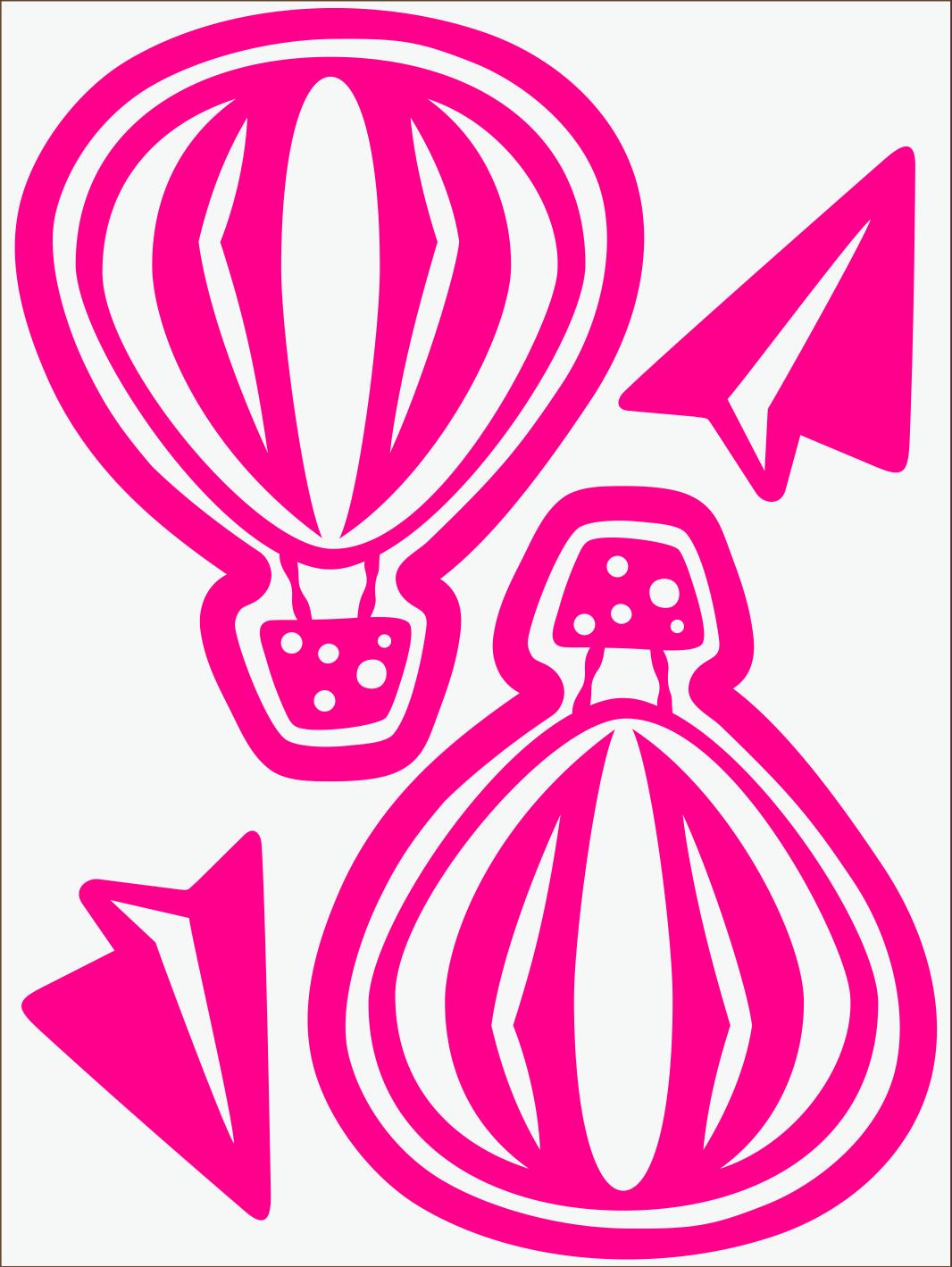 Balónik neon ružový