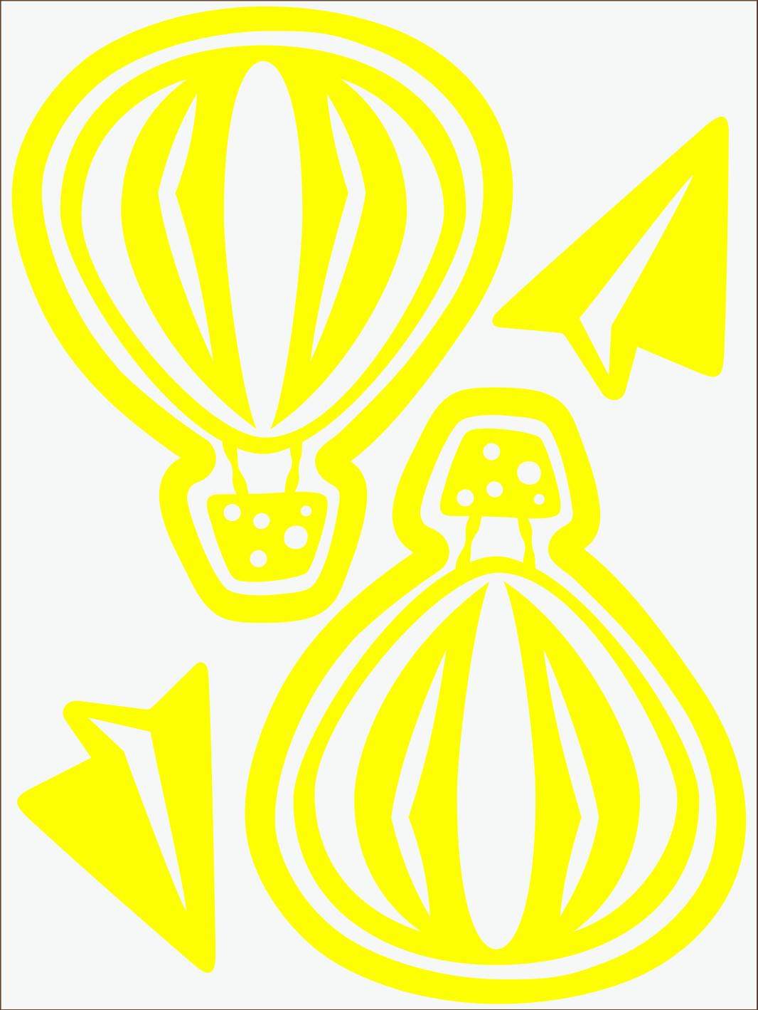 Balónik neon žltý
