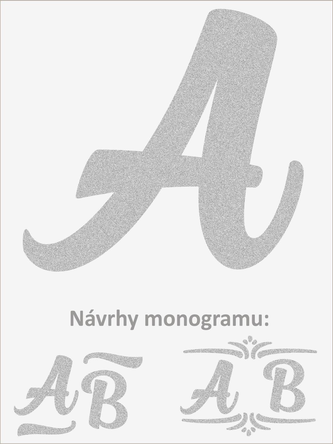 Písmeno A font1