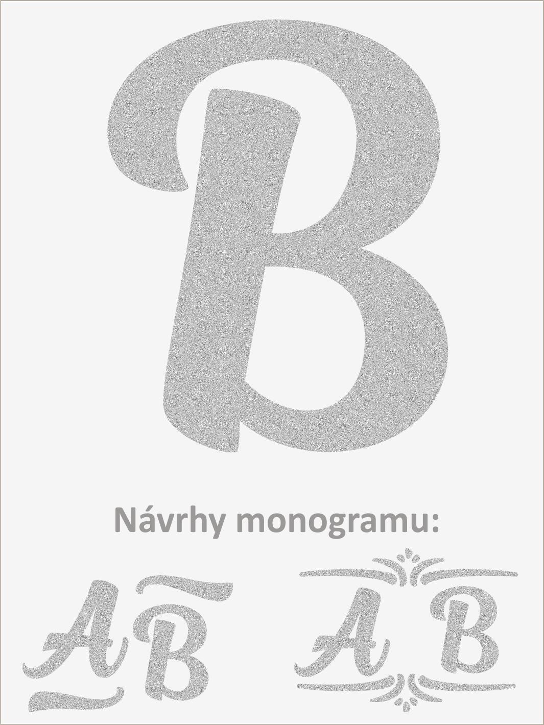 Písmeno B font1