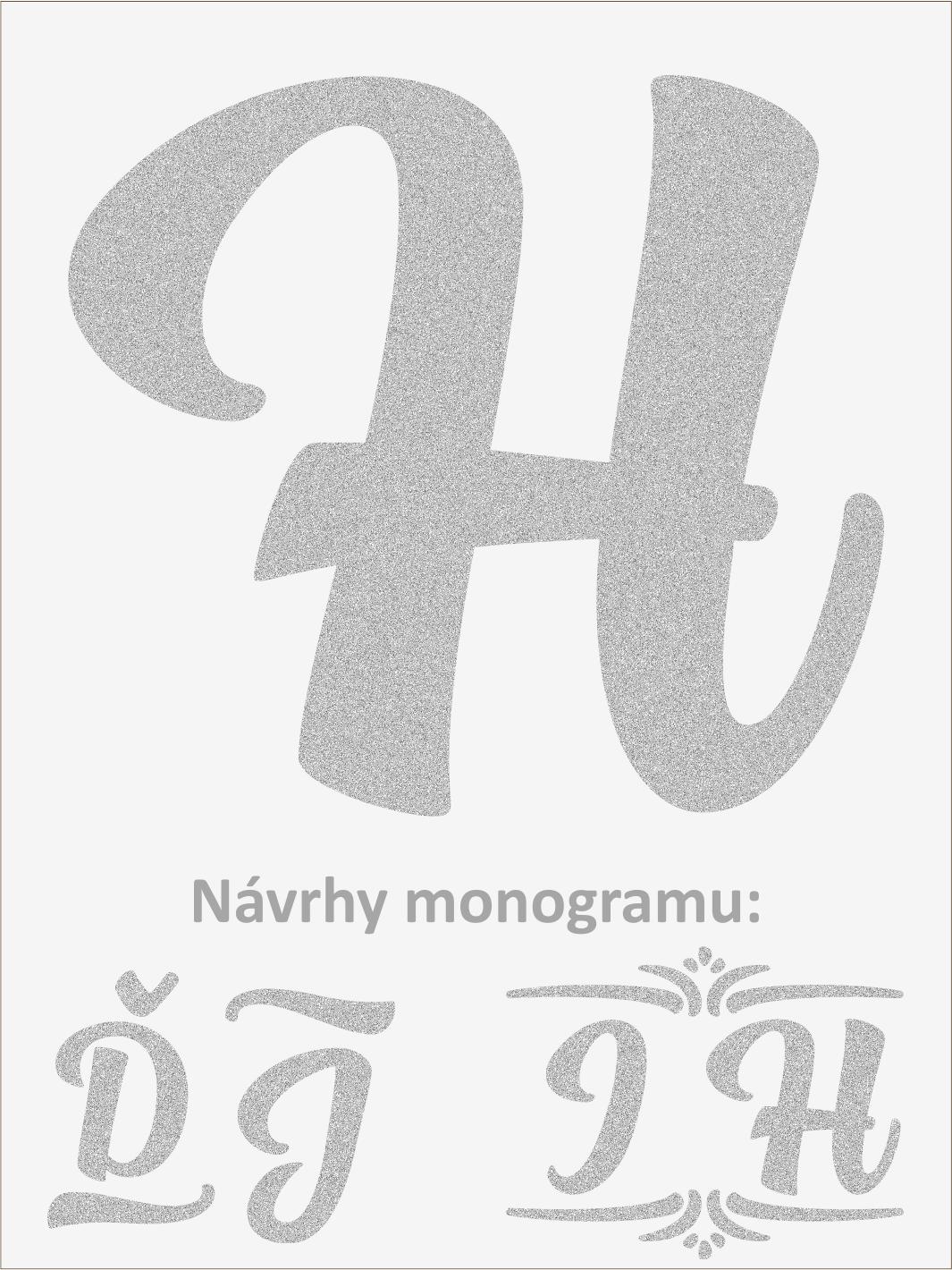 Písmeno H font1