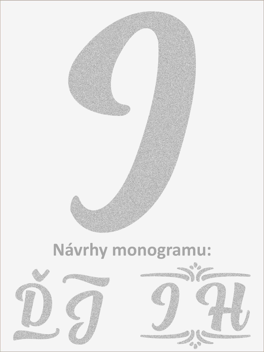 Písmeno I font1