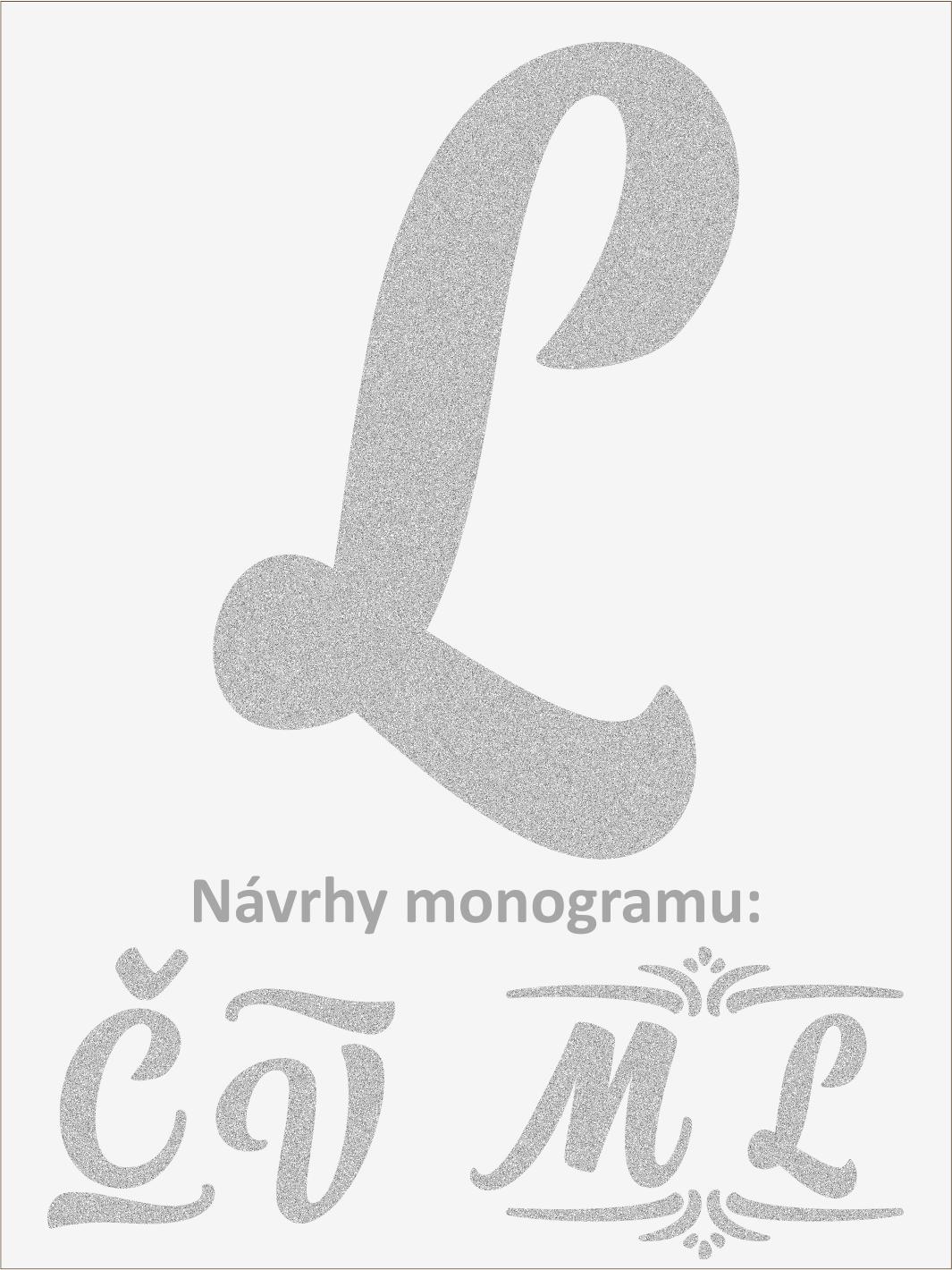 Písmeno L font1