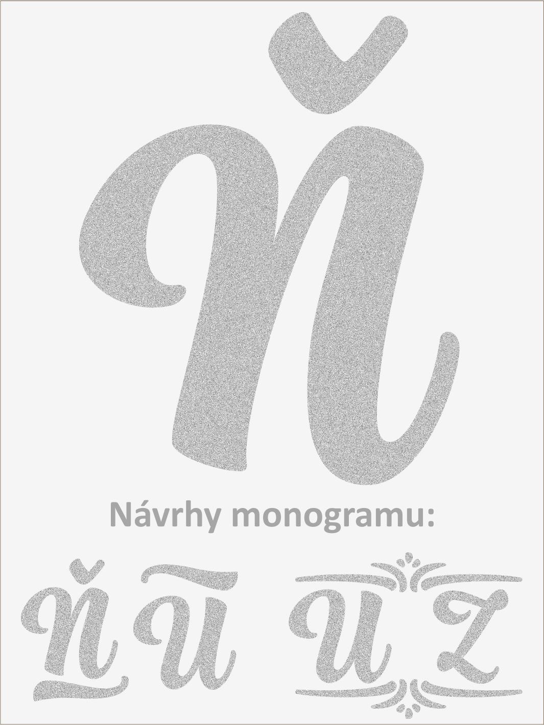 Písmeno N font1