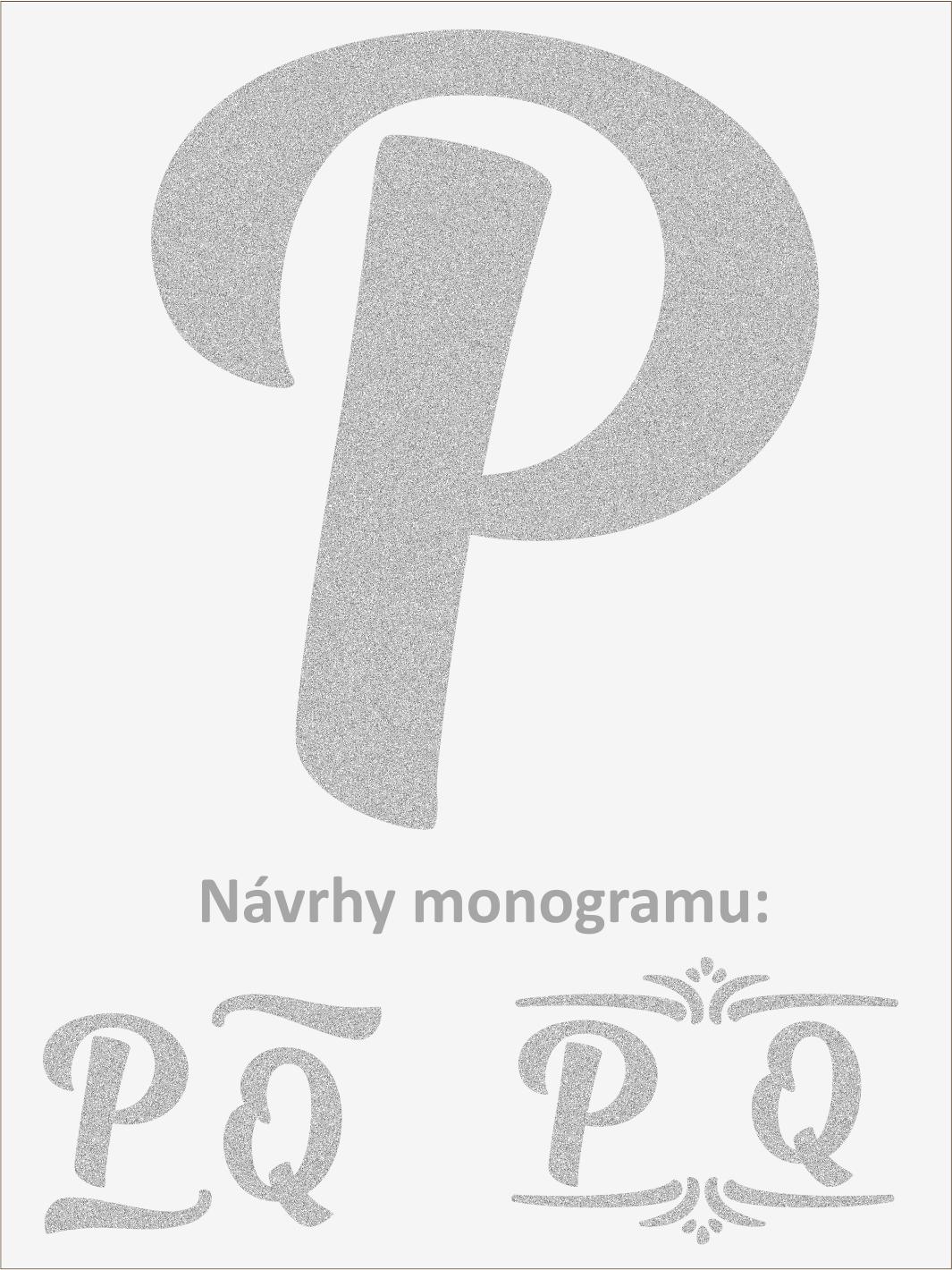 Písmeno P font1