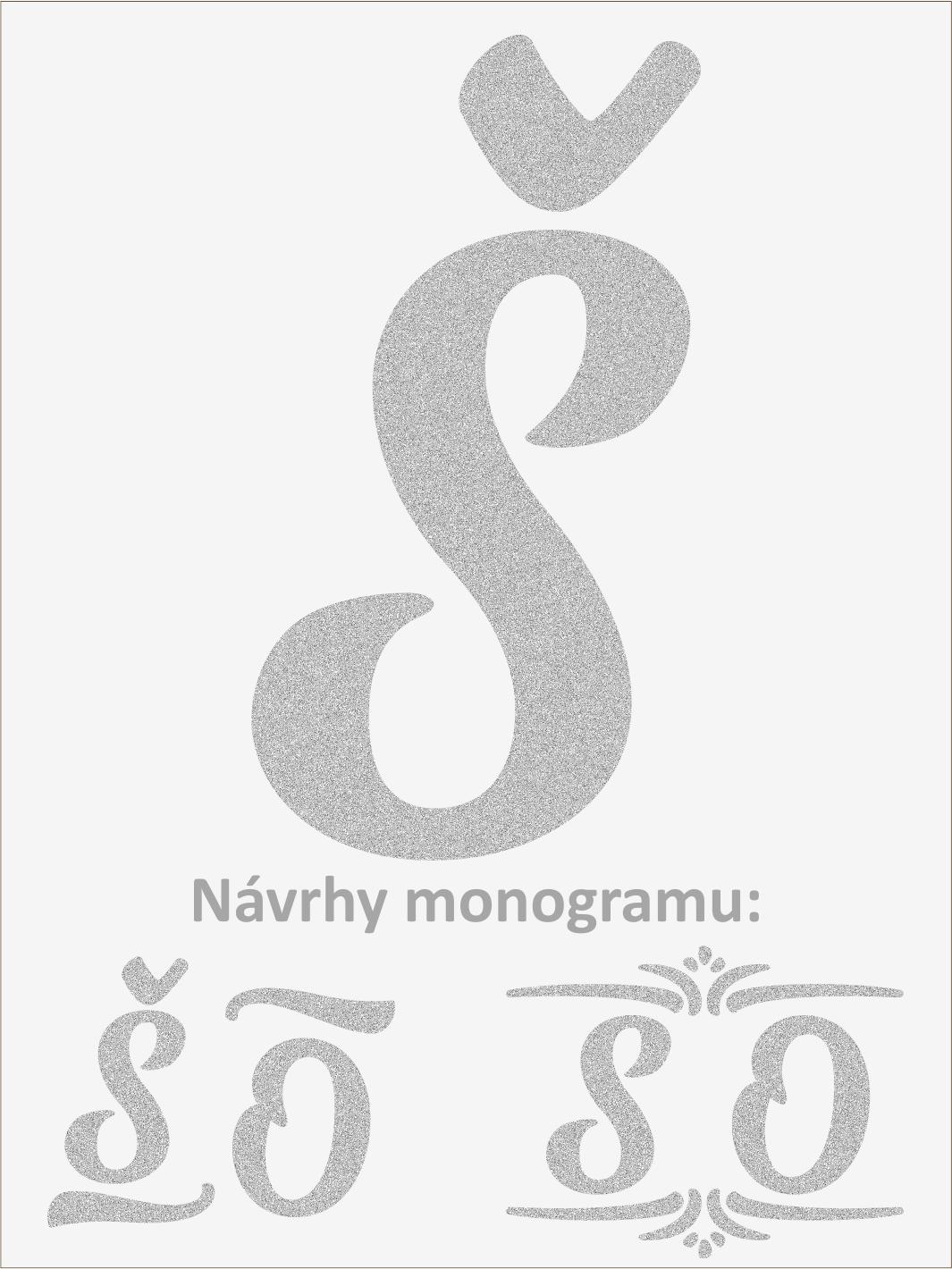 Písmeno S font1