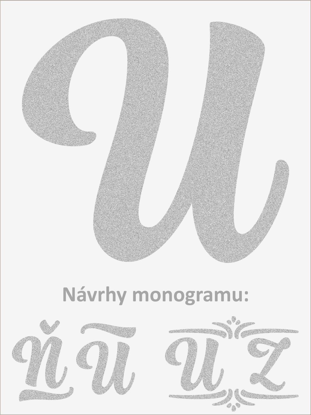 Písmeno U font1