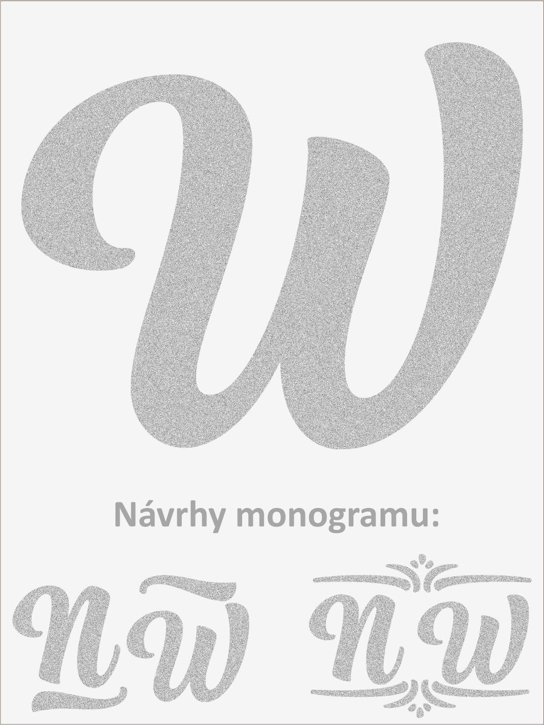 Písmeno W font1