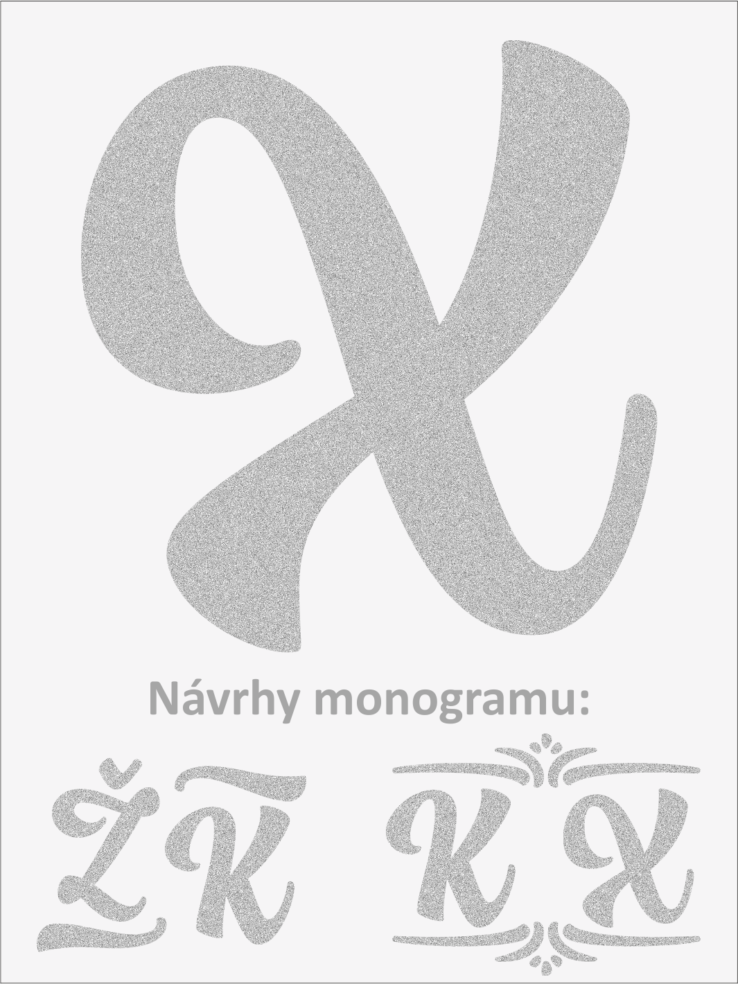 Písmeno Y font1