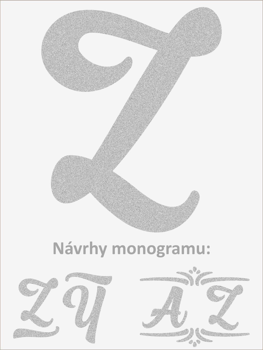Písmeno Z font1