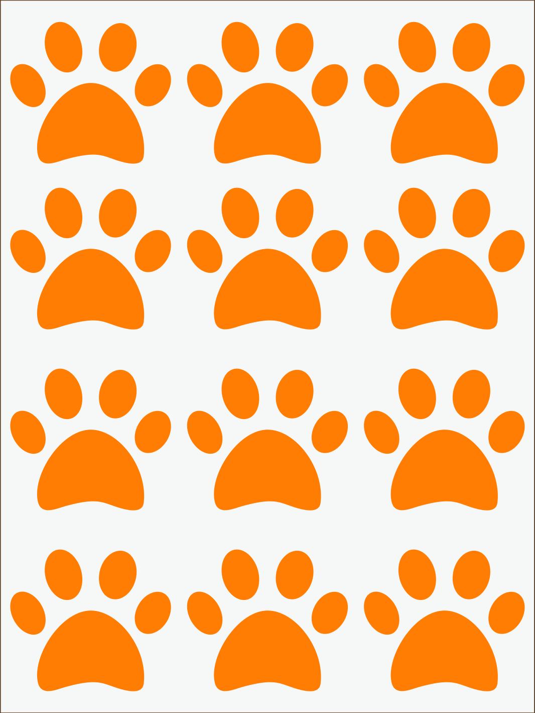 Labky neon oranžový