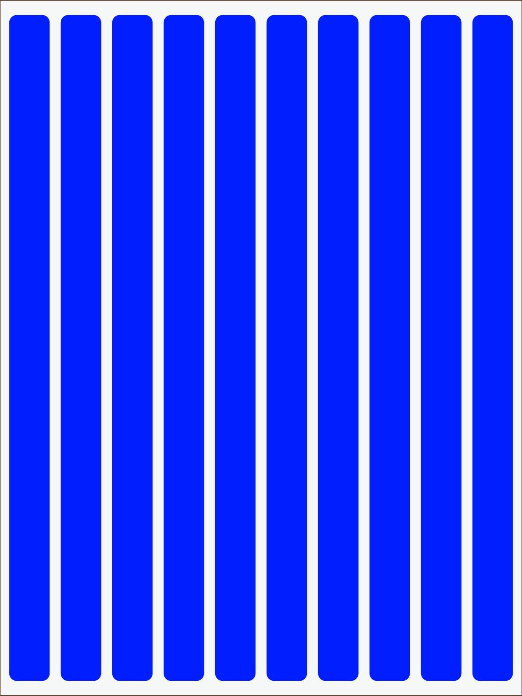 Pásiky neon modrý