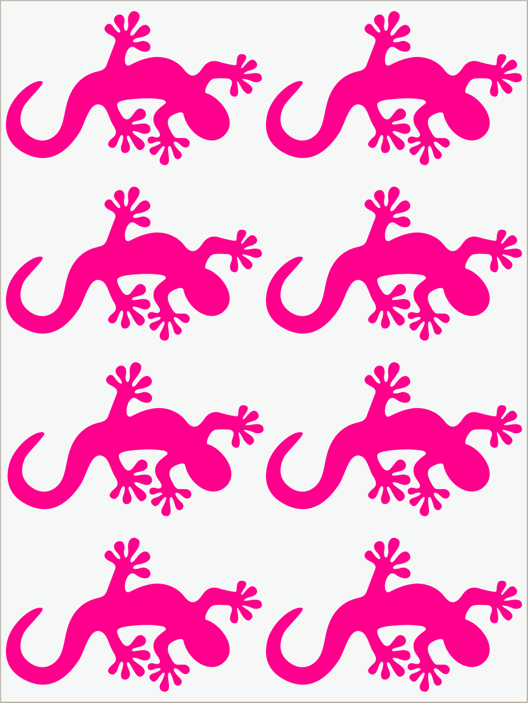 Salamandra 2 neon ružový