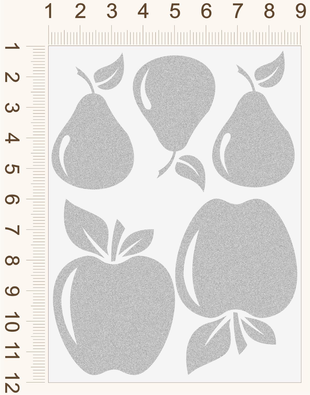 Reflexné nažehľovačky Jablká a Hrušky