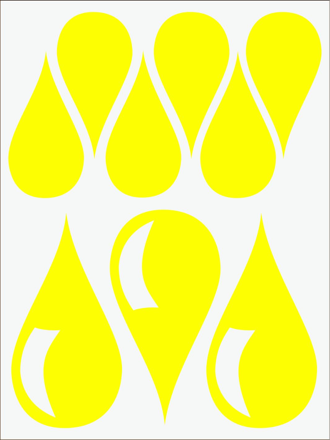 Kvapky 1 neon žltý IMG