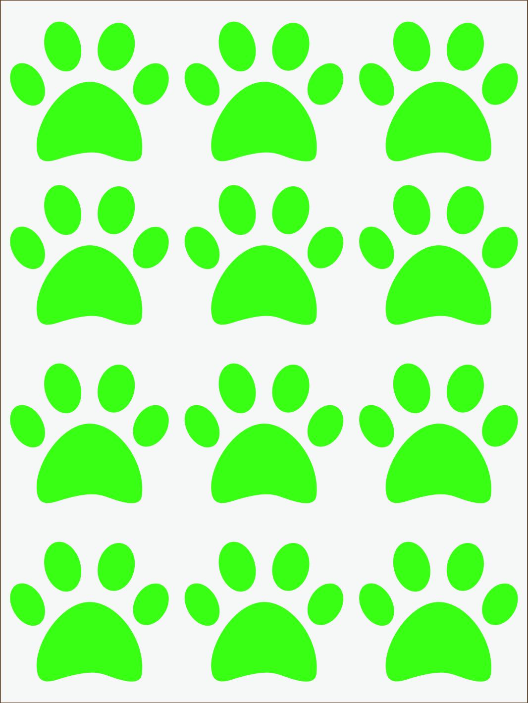 Labky neon zelený IMG