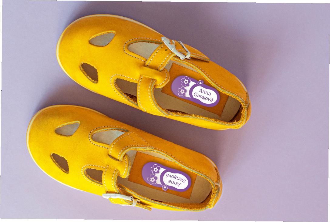 Etiketky do topánok