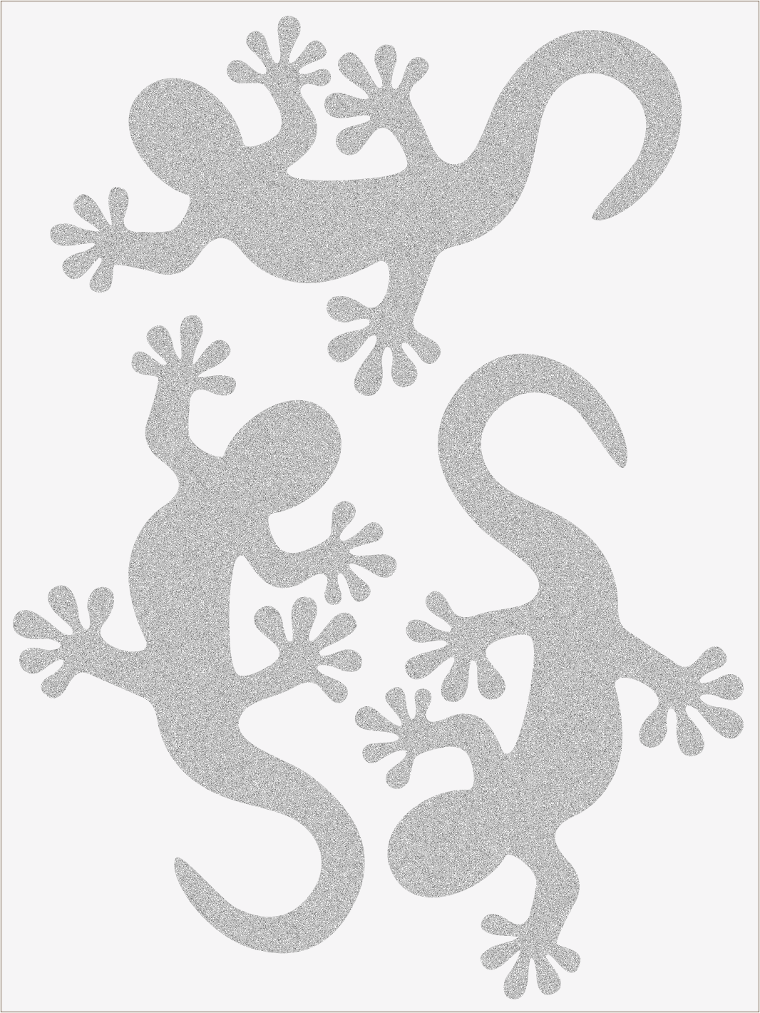 Reflexné nažehľovačky salamandra